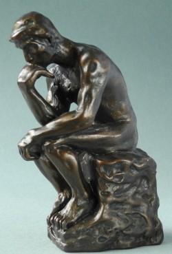 Picture of The Thinker Bronze Ornament 10 cm (Auguste Rodin) Small