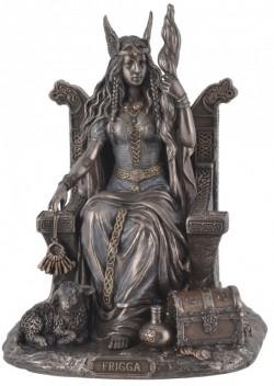 Picture of Frigga Goddess Bronze Figurine