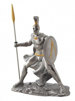 Picture of Leonidas Pewter Figurine