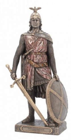 Picture of Sir William Wallace Bronze Figurine 29 cm