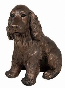 Picture of Ruby Cocker Spaniel Bronze Figurine Adrian Tinsley