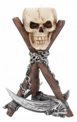 Picture of Scythe Skull Tealight Holder