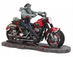 Picture of Zombie Biker Figurine James Ryman