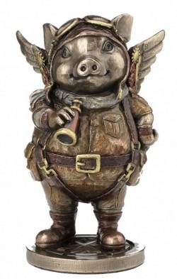 Picture of Porcus Machina Bronze Figurine