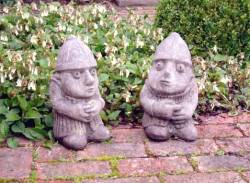 Picture of Frank and Ernest Stone Ornaments