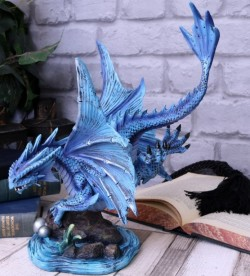 Picture of Adult Water Dragon Figurine (Anne Stokes)
