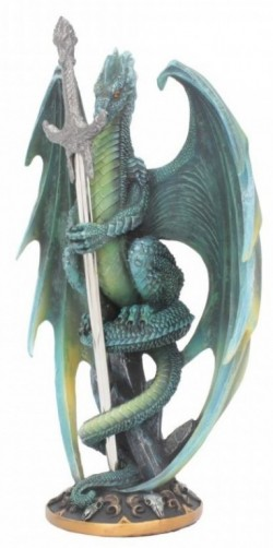 Picture of Forest Dragon Figurine Letter Opener Ruth Thompson