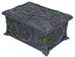 Picture of Wiccan Pentagram Trinket Box