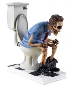 Picture of Toilet Skeleton Figurine