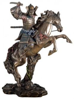 Picture of Samurai Warrior On Horseback Figurine