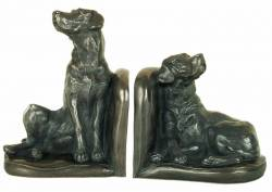 Picture of Labrador Bookend Sculptures