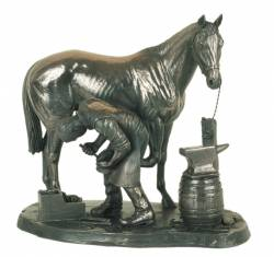 Picture of The Blacksmith Bronze Sculpture