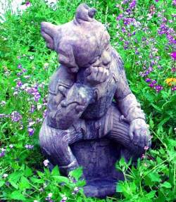 Picture of Jester Stone Statue