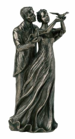 Picture of To Have and to Hold Bronze Figurine