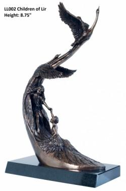 Picture of Children of Lir Bronze Sculpture LARGE 44 cm
