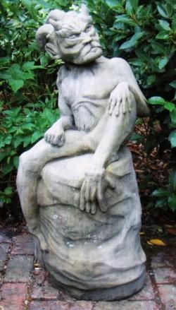Picture of Devil Stone Statue