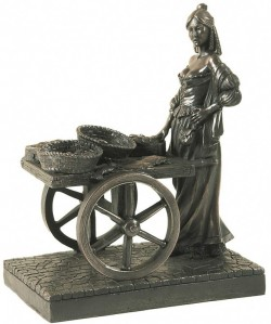 Picture of Molly Malone Bronze Figurine Limited Edition