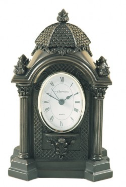 Picture of Oval Bronze Clock