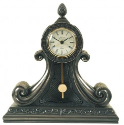 Picture of Large Mantel Pendulum Clock Bronze