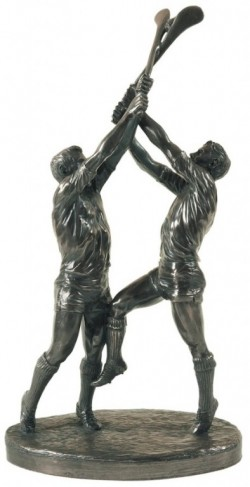 Picture of Hurling Bronze Figurine Clash of the Ash