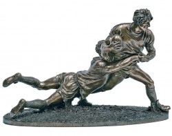 Picture of Rugby Players Figurine Large