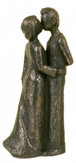 Picture of True Love Bronze Figurine