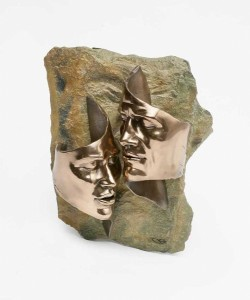 Picture of Tender Love Bronze Wall Plaque