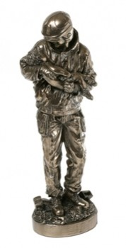 Picture of Firefighter Bronze Ornament