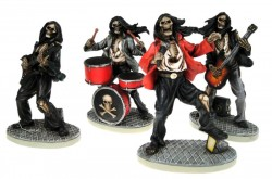 Picture of Undead Rockers 10 cm (Set of 4 Figurines)