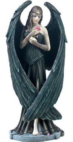 Picture of Angel Rose Figurine (Anne Stokes)