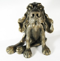Picture of Benjamin the Dog Bronze Sculpture