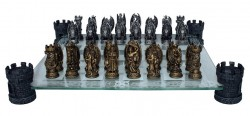 Picture of Kingdom Of The Dragon Chess Set