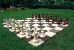 Picture of Garden Chess Set