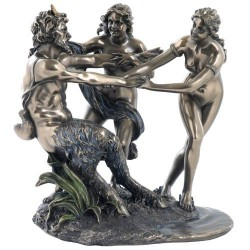 Picture of Satyr and Nymphs Figurine