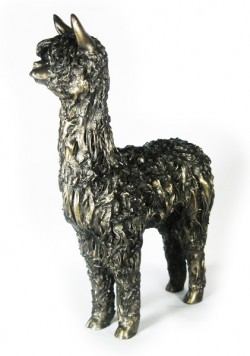 Picture of Alpaca Bronze Figurine