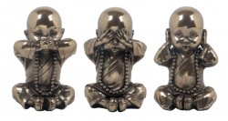 Picture of Three Wise Monks Bronze Ornaments
