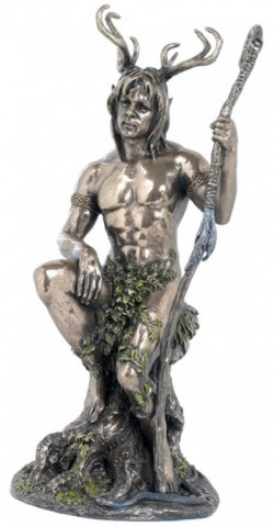 Picture of Herne the Hunter Bronze Figurine