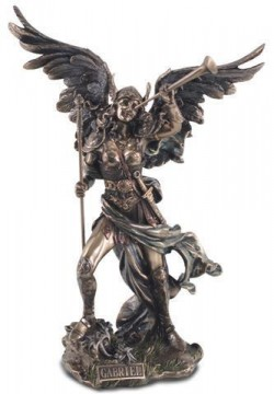 Picture of Archangel Gabriel Bronze Figurine