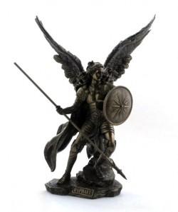 Picture of Archangel Raphael Bronze Figurine