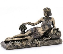 Picture of Cleopatra Bronze Figurine