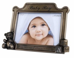 Picture of Baby Boy Bronze Frame