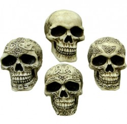 Picture of Sinister Smiles (Pack of 4 Skulls) 7 cm