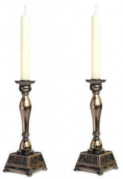 Picture of Abbey Candle Holder Set of 2 (Genesis Fine Arts)
