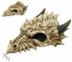 Picture of Smaug Dragon Skull Trinket Box