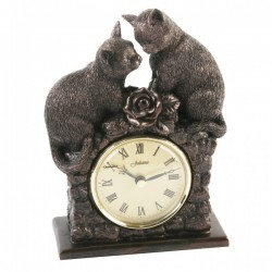 Picture of Pair of Cats Juliana Clock