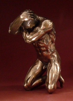 Picture of Stress Bronze Figurine