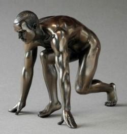 Picture of Athlete Man Bronze Figurine