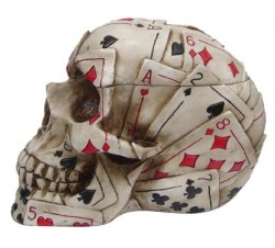 Picture of Dead Mans Hand Skull Box