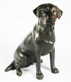 Picture of Labrador Bronze Figurine