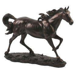 Picture of Galloping Horse Juliana Figurine (Large)